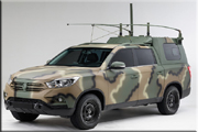Vehicle Mount Antennas Military Vehicle Mount Broad Band Antennas ATC Band Vehicular NATO Mount Antennas