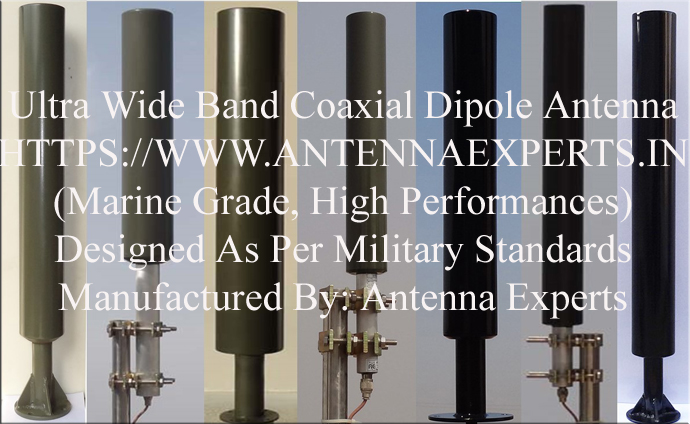 High Gain Coaxial Dipole Antenna
