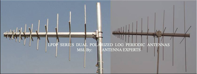 Dual Polarized Log Periodic Antenna