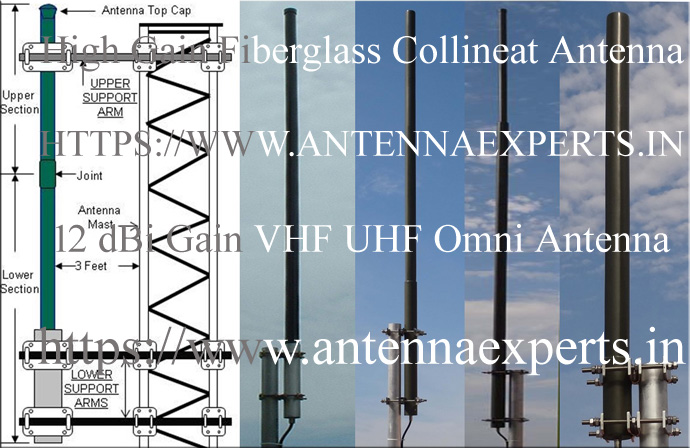 Fiber Glass Collinear Antenna
