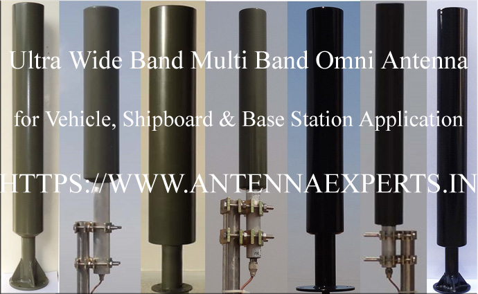 High Gain Multi Band Antenna