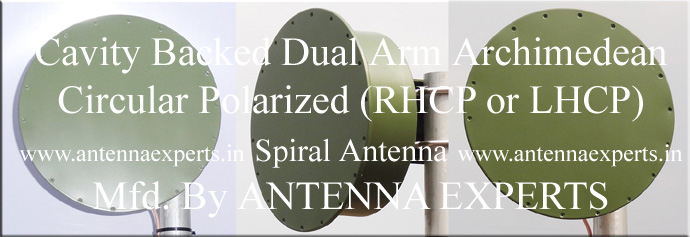 Cavity Backed Spiral Antenna