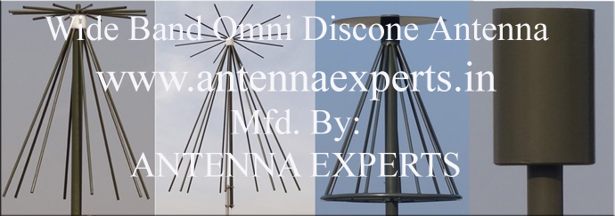 Wide Band Discone Antenna